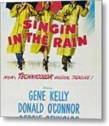 Singin In The Rain Metal Print by Georgia Fowler
