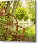 Sit For A While Metal Print by Margie Hurwich