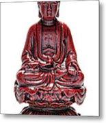 Sitting Buddha  Metal Print by Olivier Le Queinec