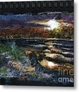 Sketch For Early Morning Peace Metal Print by Peter R Davidson