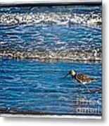 Small Waves Metal Print by Perry Webster