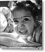 Smile Metal Print by Makarand Purohit