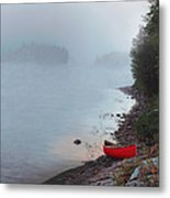 Smoke On The Water Metal Print by Kenneth M  Kirsch