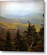 Smokey Mountain High Metal Print by Karen Wiles