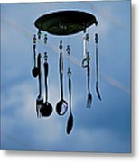 Smoky Mountain Windchime Metal Print by Christi Kraft