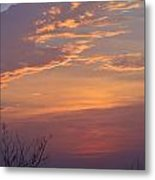Smooth Sunset Metal Print by Leticia Latocki