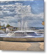 Smothers Park Fountains #1 Metal Print by Wendell Thompson