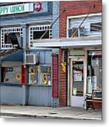 Snappy Lunch And Floyd Nc Metal Print by Bob Pardue