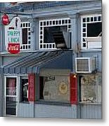Snappy Lunch Mt. Airy Nc Metal Print by Bob Pardue