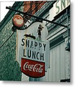 Snappy's Metal Print by Steve Godleski