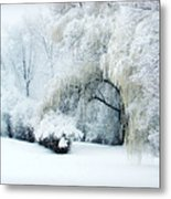 Snow Dream Metal Print by Julie Palencia