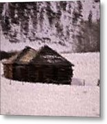 Snowed In Metal Print by Kevin Bone