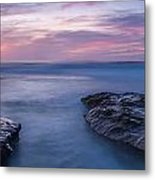 Soft Waters Metal Print by Peter Tellone