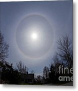 Solar Halo Metal Print by Chris Cook