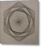 Solar Spiraling Metal Print by Jason Padgett