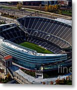 Soldier Field Chicago Sports 06 Metal Print by Thomas Woolworth