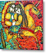 Sonata For Two And Unicorn Metal Print by Albena Vatcheva