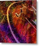 Song And Dance Digital Guitar Art By Steven Langston Metal Print by Steven Lebron Langston