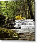 Soothing Waters Metal Print by Christina Rollo