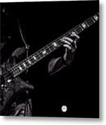 Sounds In The Night Bass Man Metal Print by Bob Orsillo
