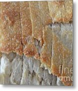 Sourdough Crust Metal Print by Mary Deal