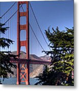 South Tower Metal Print by Bill Gallagher