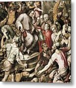 Spain 16th C.. Port Of Embarkation Metal Print by Everett