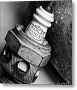 Spark Plug  1 Metal Print by Wilma  Birdwell