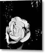 Sparkling Rose Metal Print by Gayle Price Thomas