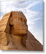 Sphinx Egypt Metal Print by Jane Rix