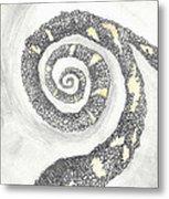 Spiral Metal Print by Angela Pelfrey