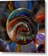 Spiraling The Vatican Staircase Metal Print by Robin Moline