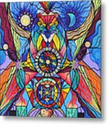 Spiritual Guide Metal Print by Teal Eye  Print Store