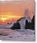 Splash  Metal Print by Marcia Colelli