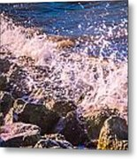 Splashes Metal Print by Dawn OConnor