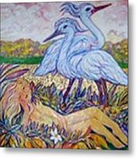 Splendor In The Grass  2 Metal Print by Gunter  Hortz