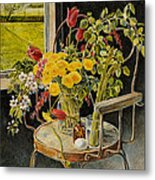 Spring Bouquet Metal Print by Steve Spencer