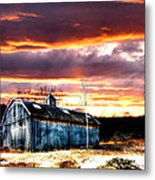 Spring In New England Metal Print by Fred LaPoint