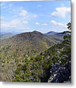 Spring In The Mountains Metal Print by Susan Leggett