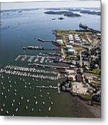 Spring Point, South Portland Metal Print by Dave Cleaveland