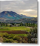 Spring Time In The Valley Metal Print by Robert Bales