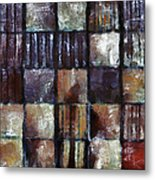 Squared Up 1 Metal Print by Angelina Vick