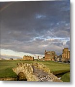 St Andrews Bridge Metal Print by Chris Frost