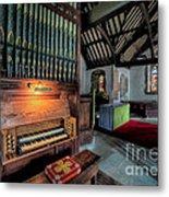 St Digains Church Metal Print by Adrian Evans
