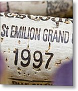 St Emilion Grand Cru Metal Print by Frank Tschakert