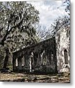 St Helena Chapel Of Ease 1  Metal Print by Steven  Taylor