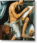 St. Jerome Metal Print by Willem Key