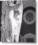 St. Michael The Archangel Metal Print by Brian Druggan
