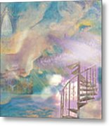 Stairway To Heaven Metal Print by Anne Cameron Cutri