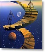 Stairway To Imagination Metal Print by Claude McCoy